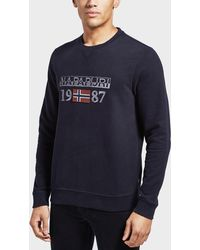 Napapijri - Berthow Crew Sweatshirt - Lyst