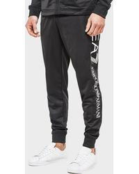 EA7 - Poly Print Track Bottoms - Lyst