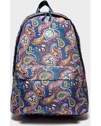 Pretty Green - Paisley Print Backpack - Lyst