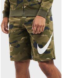 Nike - Club Camo Short - Lyst