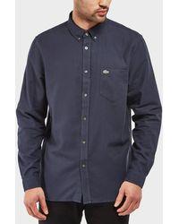 Lacoste - Pique Long Sleeve Shirt - Lyst