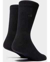 Calvin Klein - 2-pack Small Logo Socks - Lyst