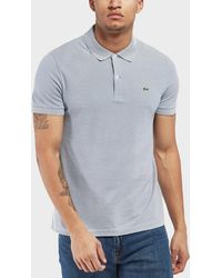 Lacoste - Mini Stripe Short Sleeve Polo Shirt - Lyst