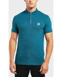BOSS - Passenger Short Sleeve Polo Shirt - Lyst