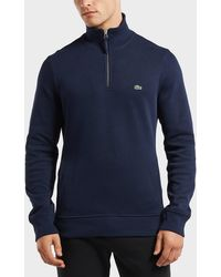 Lacoste - Half Zip Sweatshirt - Lyst