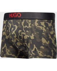 HUGO - Camo Boxer Shorts - Lyst