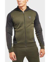 EA7 - Premium Cut And Sew Full Zip Hoodie - Exclusive - Lyst