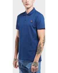 Paul And Shark - Short Sleeve Pique Polo Shirt - Lyst