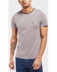 Pretty Green - Hawkley Stripe Short Sleeve T-shirt - Lyst