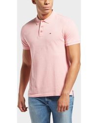 Tommy Hilfiger - Oxford Pique Short Sleeve Polo Shirt - Lyst