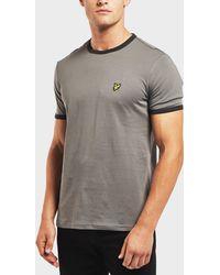 Lyle & Scott - Short Sleeve Ringer T-shirt - Lyst