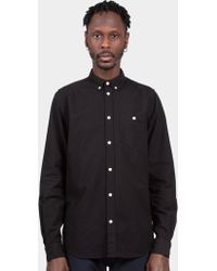 Norse Projects - Anton Black Classic Oxford Button Down Shirt - Lyst