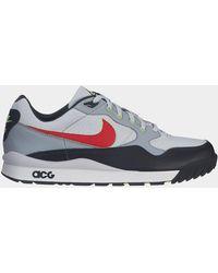 Nike - Air Wildwood Acg Platinum / Comet Red - Lyst