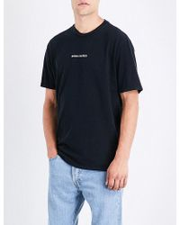 Born X Raised | Delusions Cotton-jersey T-shirt | Lyst