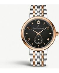 Carl F. Bucherer - 00.10316.07.36.21 Adamvi Stainless Steel And 18ct Rose-gold Automatic Watch - Lyst
