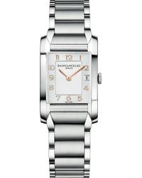 Baume & Mercier - M0a10049 Hampton Stainless Steel Watch - Lyst