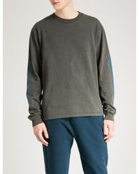 Yeezy - Season 6 Calabasas-print Cotton-jersey Sweatshirt - Lyst