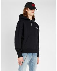 The Kooples - Nevermind Cotton-jersey Hoody - Lyst