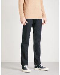 PAIGE   Normandie Slim-fit Straight Jeans   Lyst