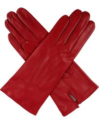 Dents - Hand-Sewn Silk-Lined Leather Gloves - For Women - Lyst