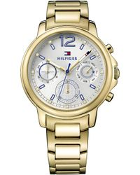 Tommy Hilfiger - 1781742 Claudia Pvd Gold-plated Watch - Lyst