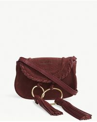 See By Chloé | Andy Mini Suede Cross-body Bag | Lyst