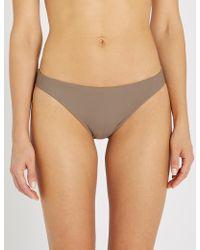 Calvin Klein - Core Solids Classic Bikini Bottoms - Lyst
