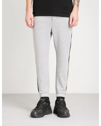 The Kooples - Panel Striped Jersey Jogging Bottoms - Lyst