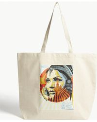 Obey - Target Exceptions Canvas Tote - Lyst