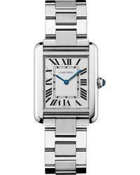 Cartier - Tank Solo Steel Large Watch - Lyst