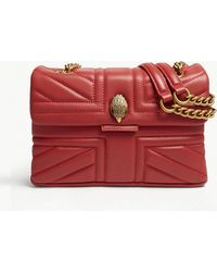 Kurt Geiger - Kensington Union Jack Leather Shoulder Bag - Lyst