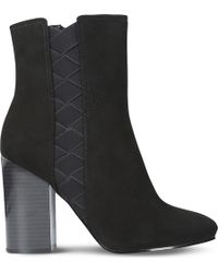 Nine West - Carensa Suede Ankle Boots - Lyst