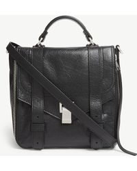 Proenza Schouler - Black Ps1 Paper Leather Backpack - Lyst