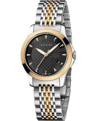 9387c6051d8 Gucci - Ya126512 G-timeless Collection Bi-colour Stainless Steel And  Pink-gold