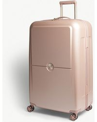 Delsey - Peony Pink Turenne Four Wheel Suitcase - Lyst