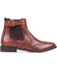 Carvela Kurt Geiger - Slow Leather Chelsea Boots - Lyst