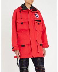 Junya Watanabe - X Canada Goose Shell Jacket - Lyst