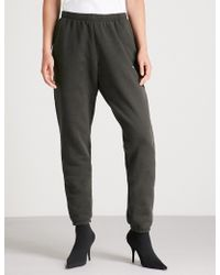 abcd9b5c802fe Women's Balenciaga Track pants and sweatpants On Sale - Lyst