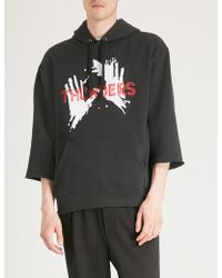 Thunders - Blackfont Cotton-blend Hoody - Lyst
