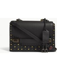COACH - Swagger Chain Quilted Leather Cross-body Bag - Lyst