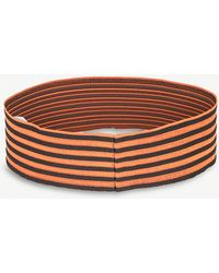Vionnet - Striped Stretch Belt - Lyst