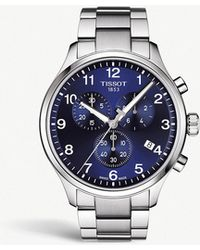 Tissot - Chrono Xl Classic Stainless Steel Watch - Lyst