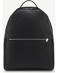 Smythson - Burlington Zipped Leather Backpack - Lyst