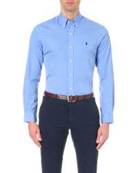 Polo Ralph Lauren - Slim-fit Single-cuff Shirt - Lyst