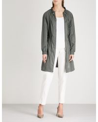 St. John - Elasticated Shell Jacket - Lyst