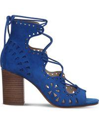 Nine West - Gweniah Suede Sandals - Lyst