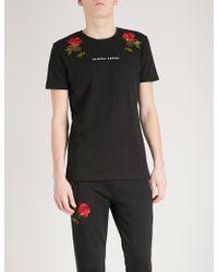 Criminal Damage - Thorn Cotton-jersey T-shirt - Lyst