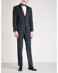 Armani - Tailored-fit Wool Tuxedo - Lyst