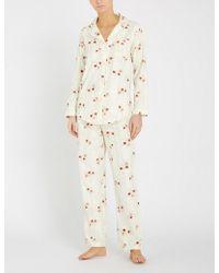 Ralph Lauren - Floral-print Cotton Pyjama Set - Lyst