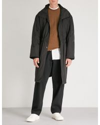 Isabel Benenato - Hooded Shell Trench Coat - Lyst